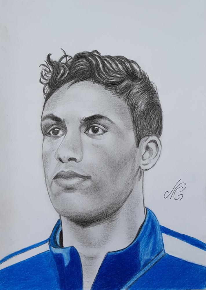 Raphaël Varane by Nicky08